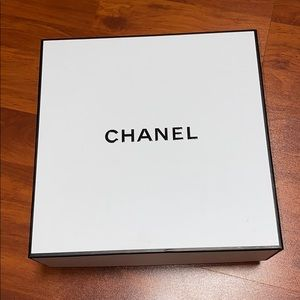 Chanel box approximately 8.5 x 8.5
